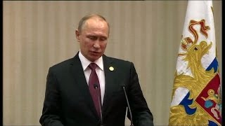 Russian President Vladimir Putin on OPEC   we are ready to freeze oil production