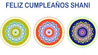 Shani   Indian Designs - Happy Birthday