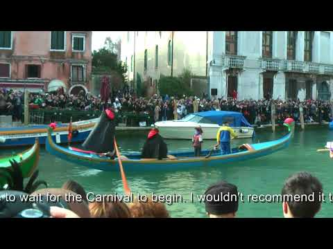 Venice Carnival 2017 - tips for travelling with kids to Ital