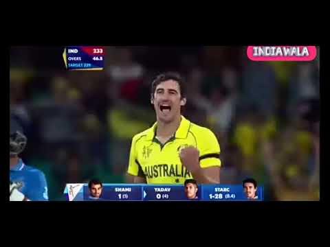 India VS Australia Semi Final, 2015 World Cup |