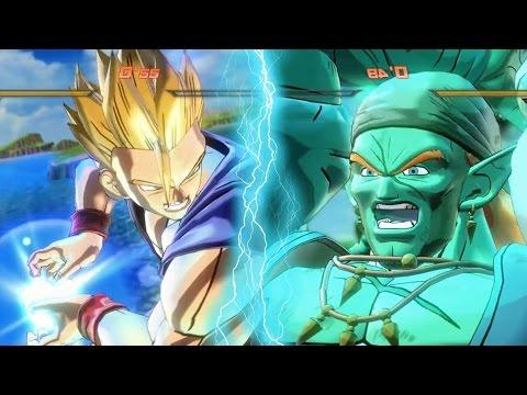 GOHAN & PICCOLO vs BOJACK & SLUG | Dragon Ball Xenoverse 2