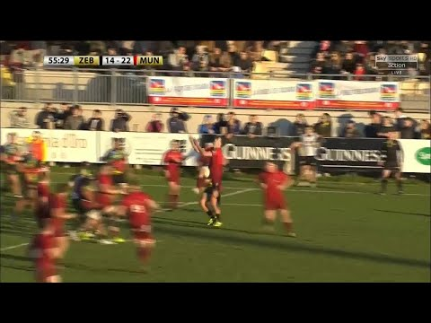 Guinness PRO14 Round 9 Highlights: Zebre Rugby Club vs Munster Rugby