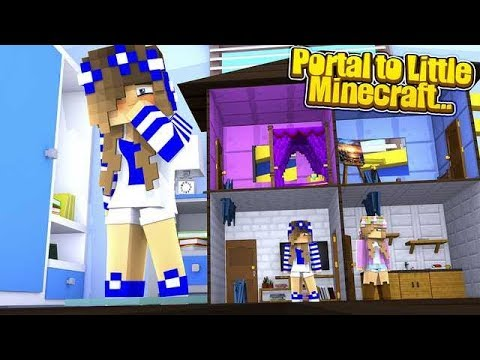 PORTAL TO...LITTLE MINECRAFT w/Little Carly (Minecraft Roleplay).
