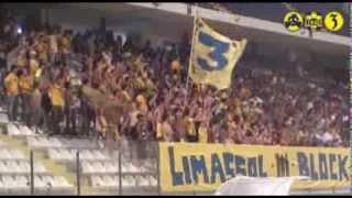 ael vs aek athens 2 2 friendly gate 3 1989