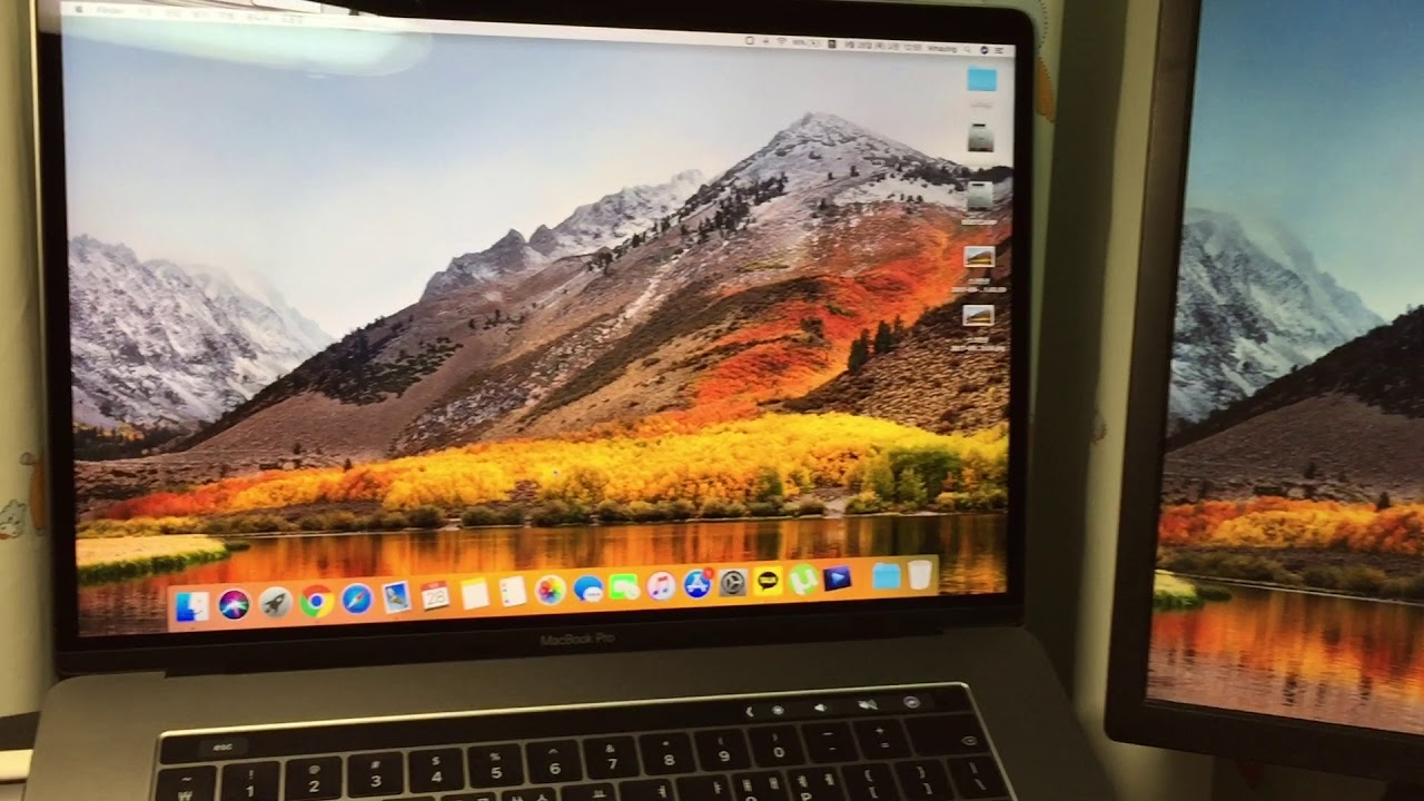 macOS High Sierra external moniter bug with USB-C adapter