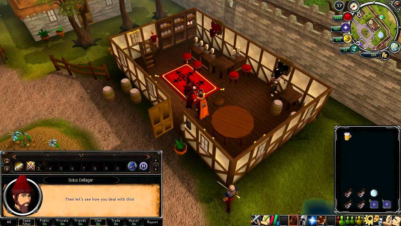Runescape Quest Wanted Walkthrough 2012 Eoc Youtube