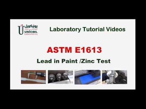 Lead in Paint Test
