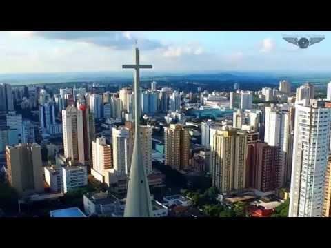 video voando por Maringá