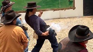 New World Record - Shooting .295 Second at 21 Feet - Cisko Master Gunfighter