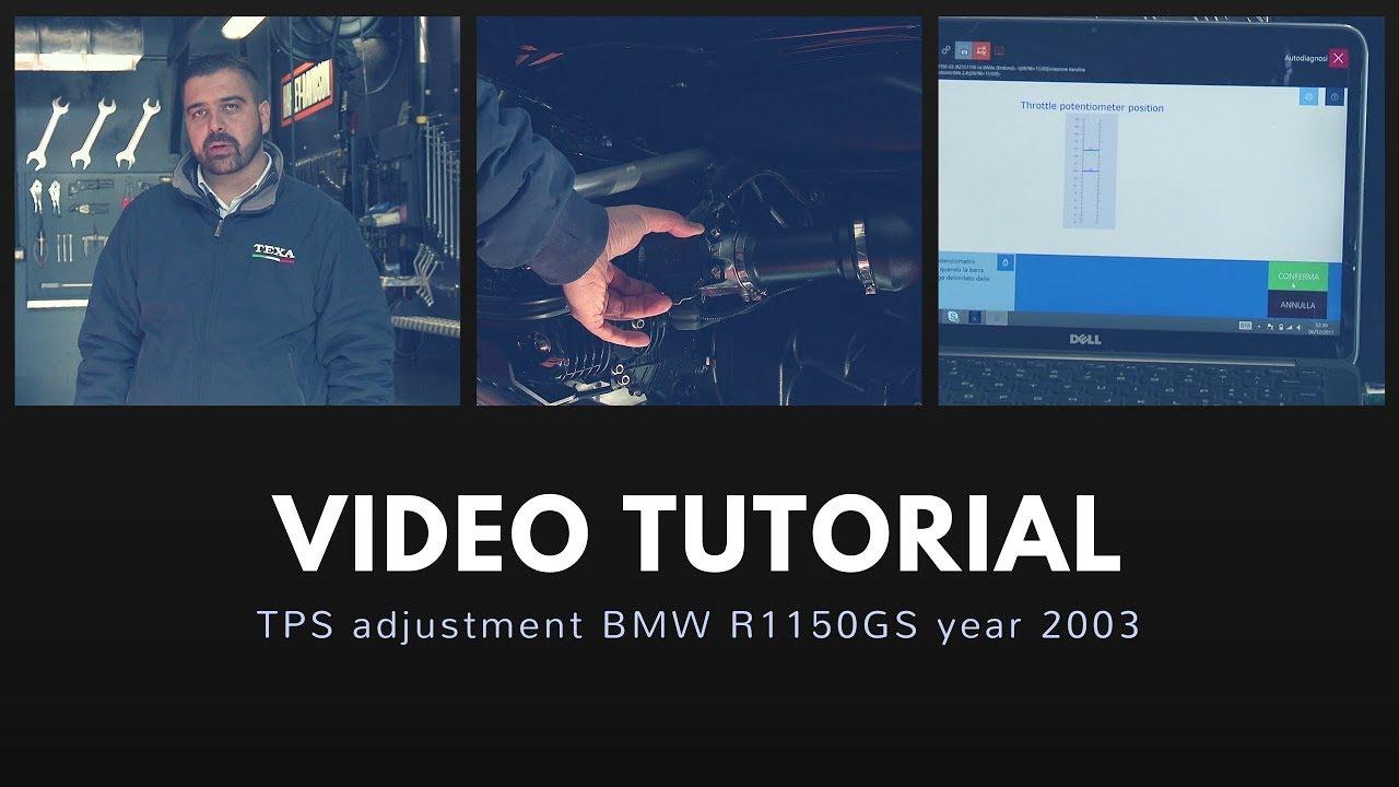 EN TPS adjustment BMW R1150GS 2003 YouTube