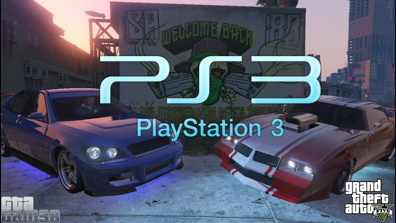 Gta 5 œ� Ps3 Rare Cars  Offline  Single Player  Story Mode  Youtube