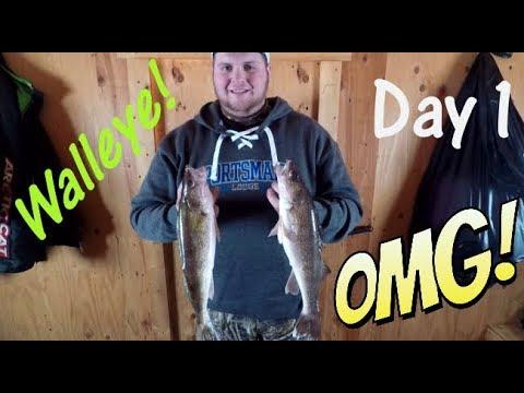 LOTW Walleye! Sportsman's Lodge Day 1.