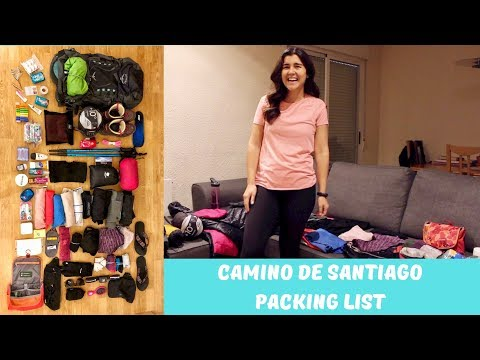 How to Pack for the Camino de Santiago | Packing List 2019