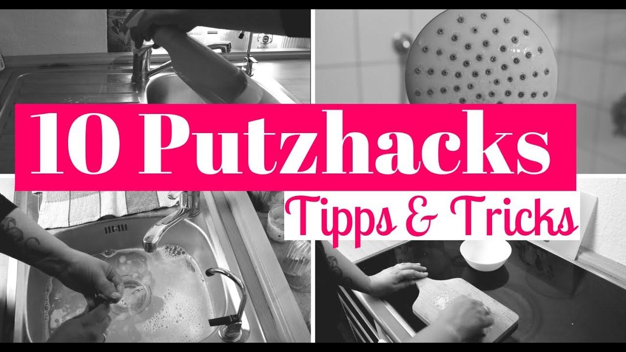 10 PUTZHACKS| Putztipps| Haushaltstipps| Tipps & Tricks| Fräulein Jasmin