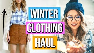 Huge Fall to Winter Clothing Haul for Short Girls!