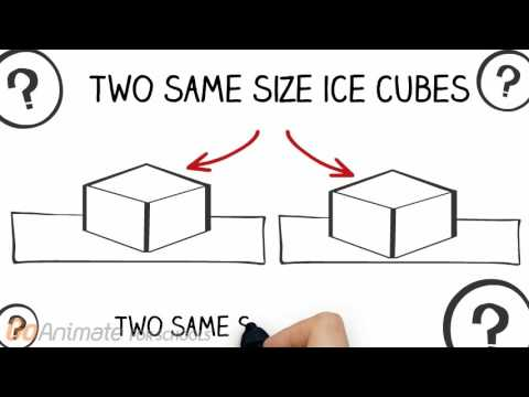 Thermal energy of Melting Blocks