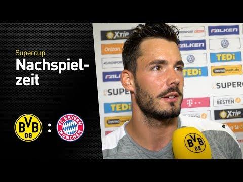 Roman Bürki im Interview   Borussia Dortmund - FC Bayern München 6:7 n.E.