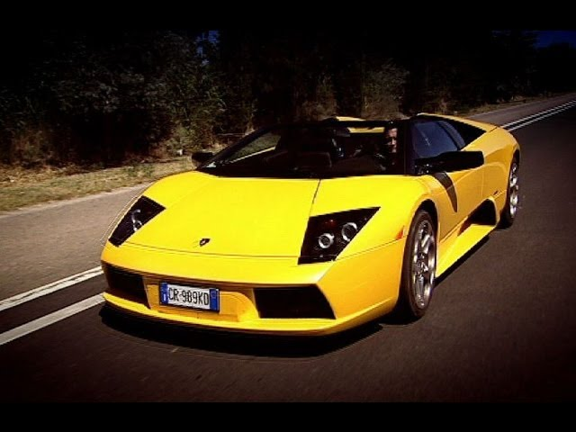 Bull Running And Lamborghini Roadster Driving   Top Gear