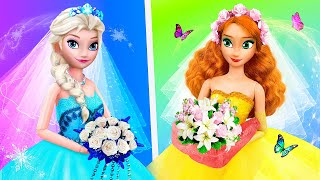 Elsa and Anna Hacks and Crafts / 15 Frozen Wedding DIYs