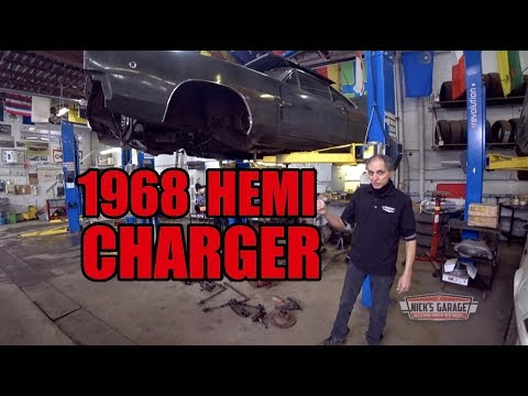 1968 Dodge HEMI Charger in pieces – 241 Red Ram update