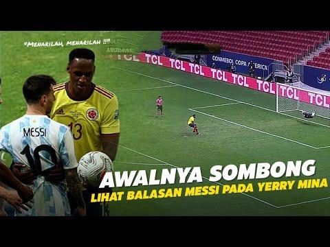 SOMBONG DULUAN !!! Inilah Kronologi Lengkap Pembalasan Messi Terhadap  Kesombongan Yerry Mina