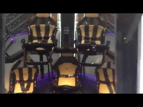 Inside the Dragon V2 capsule