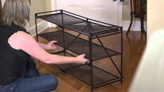 Origami Folding Shoe And More Rack