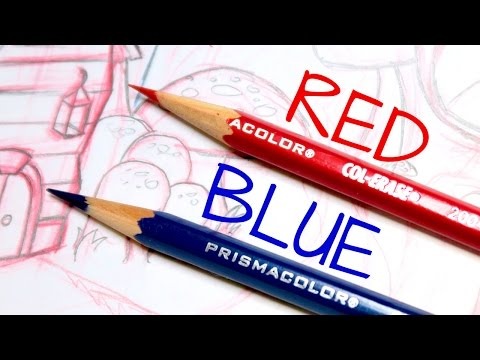 Why Sketch in RED & BLUE Lead?