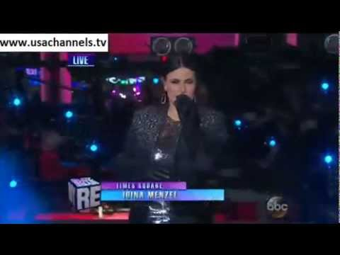 Idina Menzel - Let it Go - New Year's Rockin' Eve 2015
