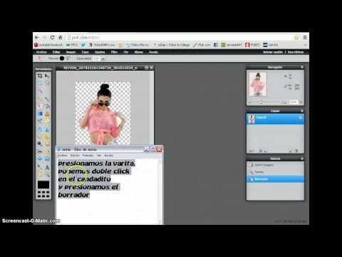 Cómo guardar una imagen con fondo transparente - Tutorial de Photoshop from YouTube · Duration:  7 minutes 50 seconds