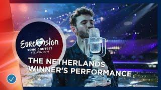 Winner's Performance: Duncan Laurence   Arcade   The Netherlands   Eurovision 2019