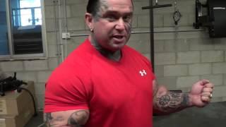 Lee Priest Bicep Training Tips