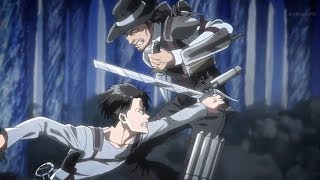 Attack On Titan - Levi Squad vs Kenny and his Squad [Eng Sub]