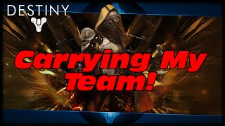 Destiny Carrying My Team To Victory With 15+ Kills In 3 Minutes! Destiny Crucible Gameplay!
