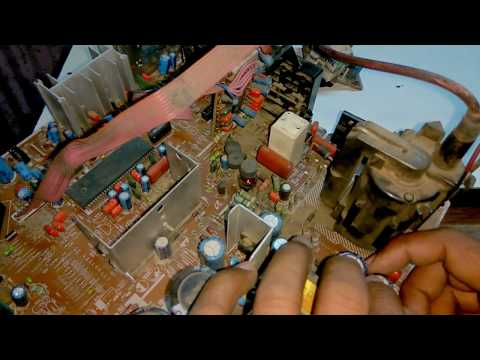 How  to repair  Samsung crt  tv  and  its  voltage  reference