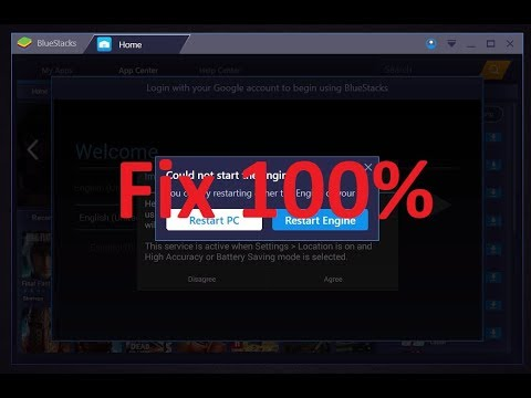 Bluestacks 3 Engine Won't Start Fix!!! | Bluestacks 3 Could not Start the  Engine Fix!!!