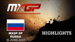 MXGP of Russia 2017 Qualifying Highlights