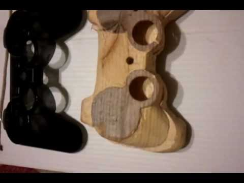 Real Wooden Ps3 Controller