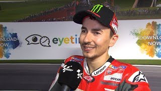 """Lorenzo: """"Marquez Is Always Very Difficult To Beat"""""""
