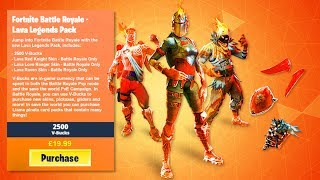 "How to Get NEW ""LAVA LEGENDS PACK"" in Fortnite! NEW LAVA LEGENDS BUNDLE LEAKED! (Lava Legends Skins)"