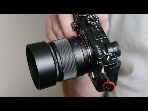 The Panasonic 25mm F/1.7 Standard Prime Lens For Micro Four Thirds Cameras