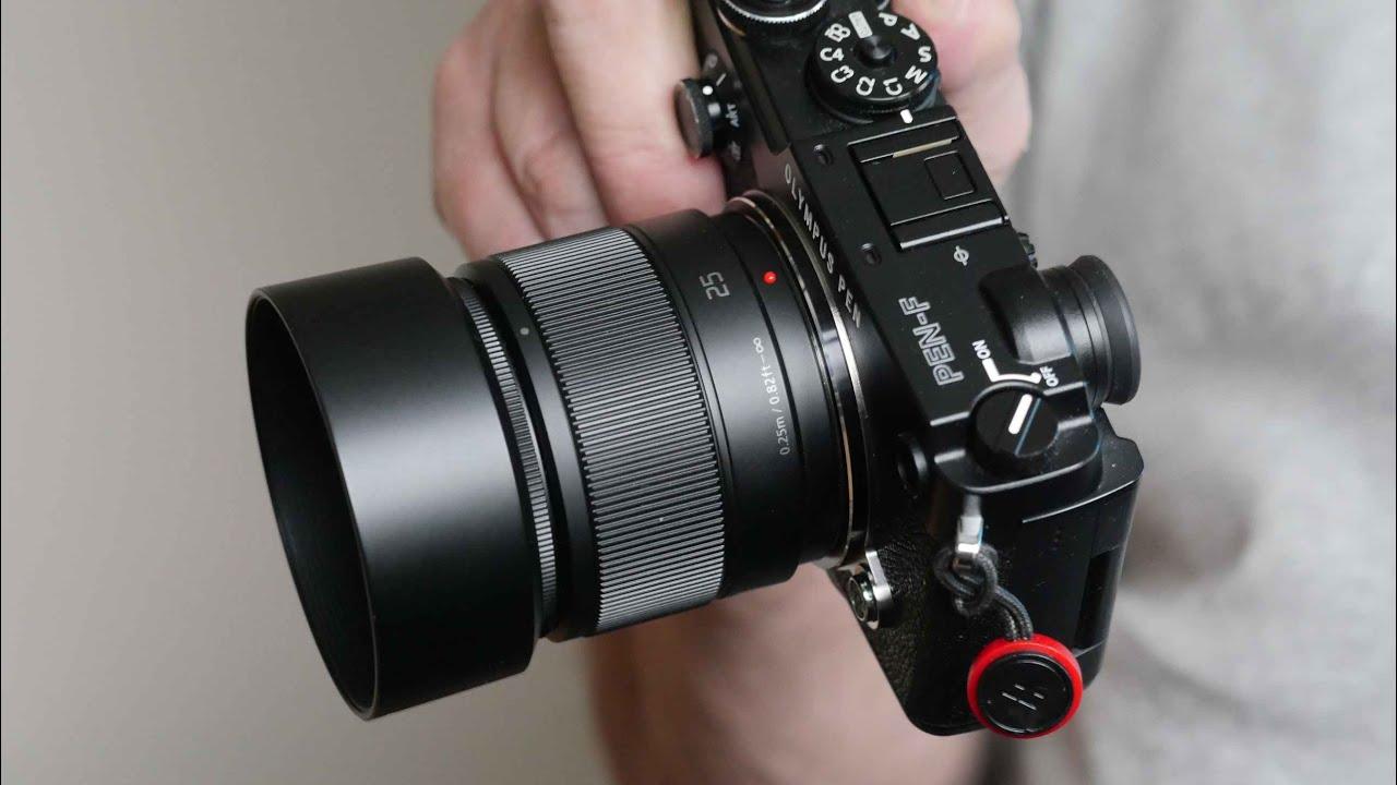 The Panasonic 25mm F/1.7 Standard Prime Lens For Micro Four Thirds Cameras & The Panasonic 25mm F/1.7 Standard Prime Lens For Micro Four Thirds ...