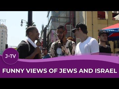 Hilarious! Views on Jews, Trump, Hillary & Israel from America | J-TV