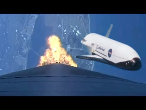 Atlas 5 X-37B and solar sailing satellite launch - full webc