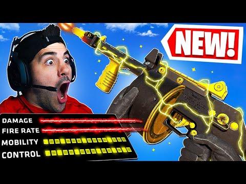 The NEW StreetSweeper Shotgun in Warzone! 🤯 IT'S INSANE!