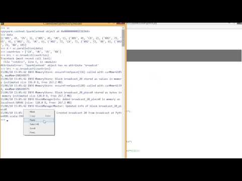 Apache Spark Training: RDD: Part 2 (How to do Pivot) - YouTube