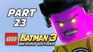 Lego Batman 3 Beyond Gotham Walkthrough Part 23 - Aw-Qward Situation (Lets Play Commentary)