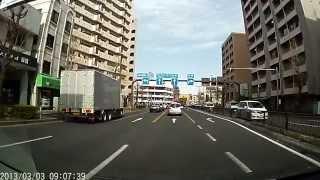 板橋区,本蓮沼→17号線(中山道)→戸田方面へ