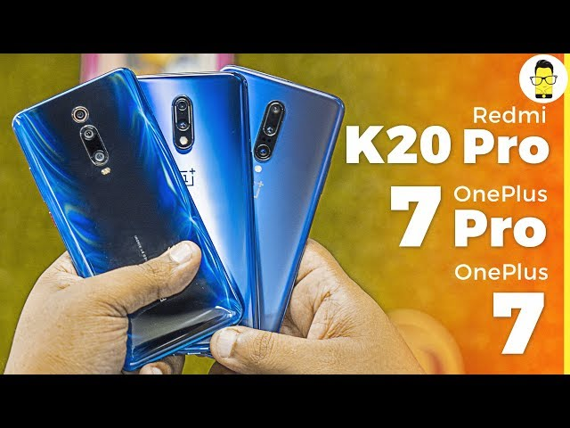Are the Redmi K20 Pro's cameras better than OnePlus 7/OnePlus 7 Pro? | Camera Comparison