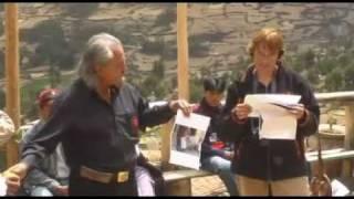 Peru 2008 032 2 Cuyo Grande Pisac speeches